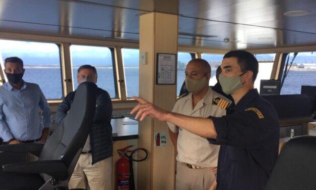 """Las subsidiarias de Damen Group unen fuerzas en la carrera para que P&O Ferries """"Pride of Canterbury"""" vuelva a funcionar"""