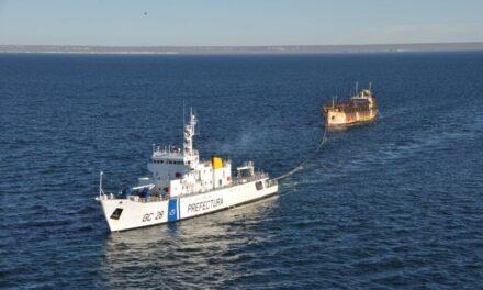 Prefectura en el combate de la pesca ilegal