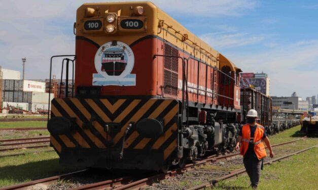 Se celebra el día del trabajador Ferroportuario