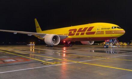 DHL Express fortalece su red aérea global, con ocho nuevos Boeing 777