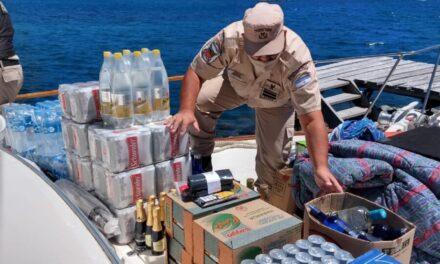 Prefectura Naval Argentina detuvo a una embarcación sobrecargada de personas