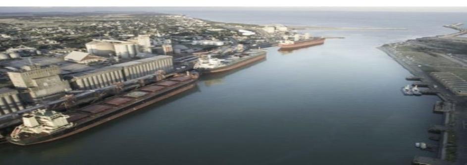 Puerto Quequén cerró un histórico 2020