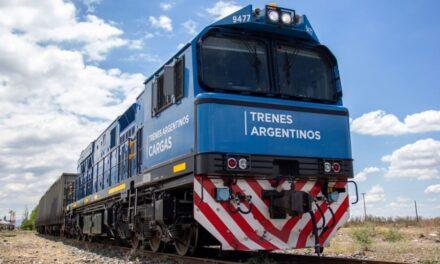 Trenes Argentinos Cargas transportó un 15% más durante el 2020