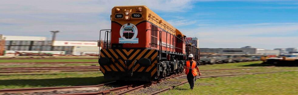 Puerto Buenos Aires incrementó un 80% el movimiento ferroviario