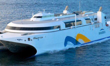Fronteras cerradas: Lunes 18 de enero,  parte el último barco de Buquebus en el mes,  desde Buenos Aires a Montevideo