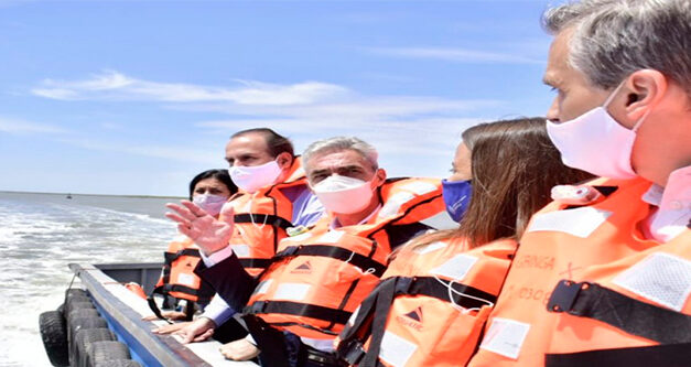El Ministro de Transporte recorrió el Puerto de Bahía Blanca