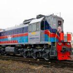 TMH envió dos locomotoras de maniobra a Mongolia