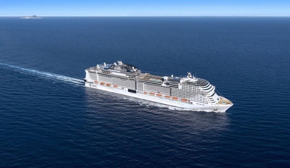 MSC Cruceros ofrece a los pasajeros  test PCR antes de su desembarque