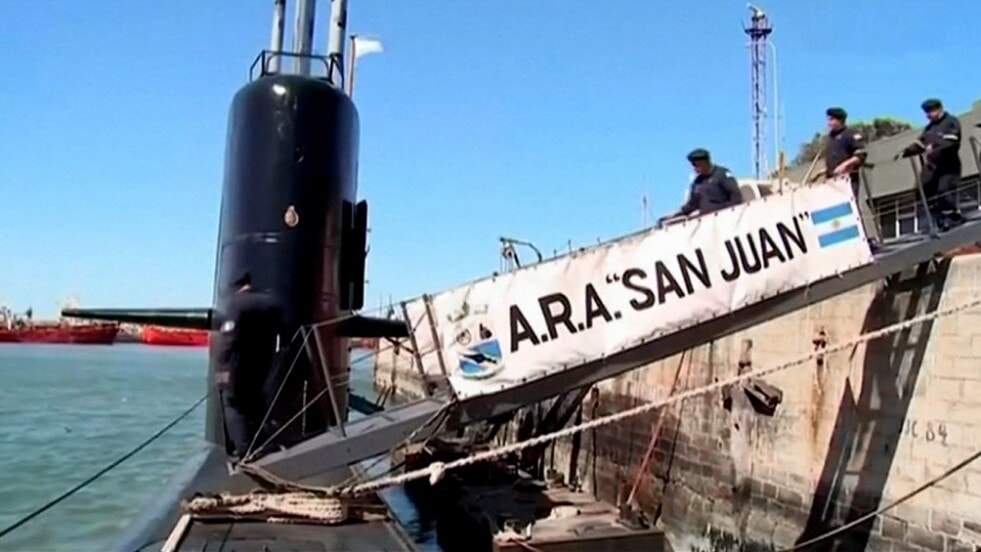 Diputados aprobó reparación económica para familiares de los tripulantes del ARA San Juan