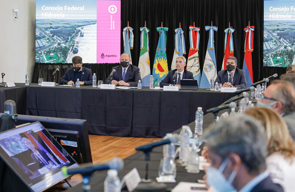 El Consejo Federal Hidrovía tendrá su segunda reunión el próximo 26 de abril en  Rosario