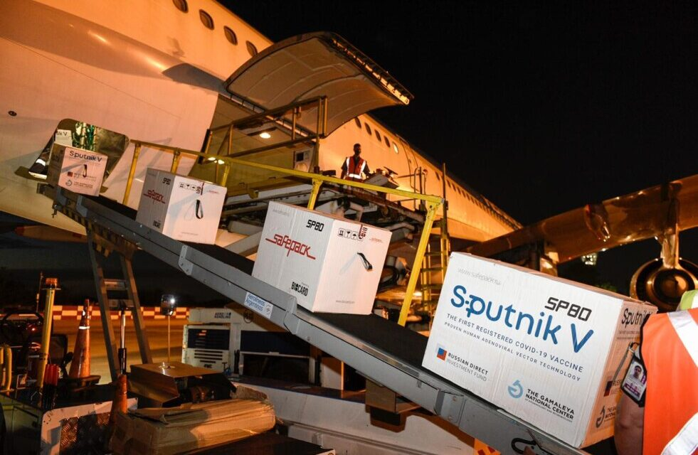 Llegaron 732.500 nuevas Sputnik V y Argentina ya cuenta con más de 4 millones de vacunas