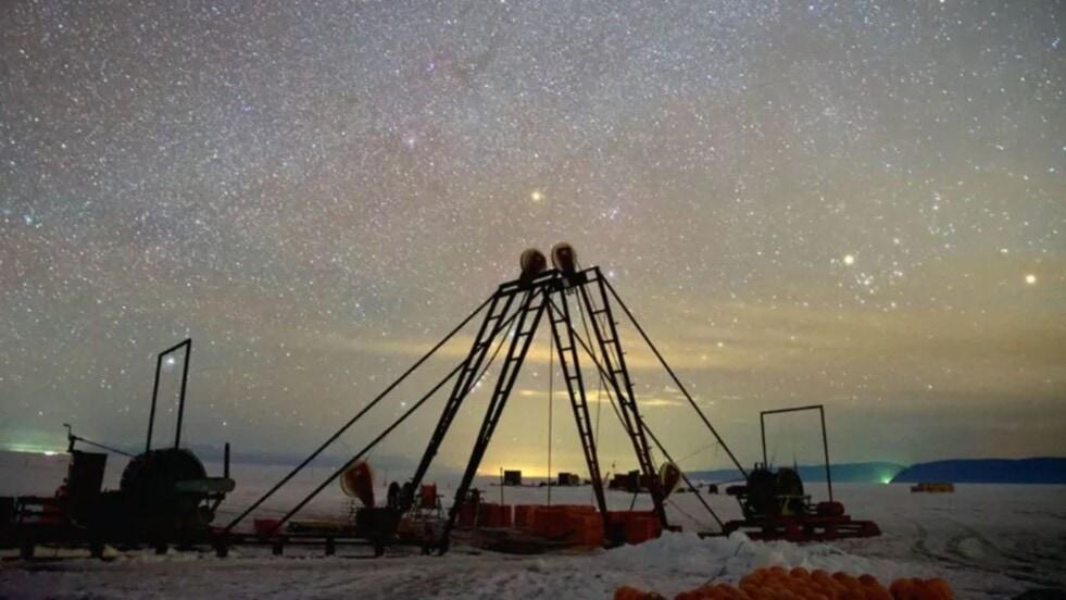 Rusia inauguró uno de los mayores telescopios submarinos del mundo