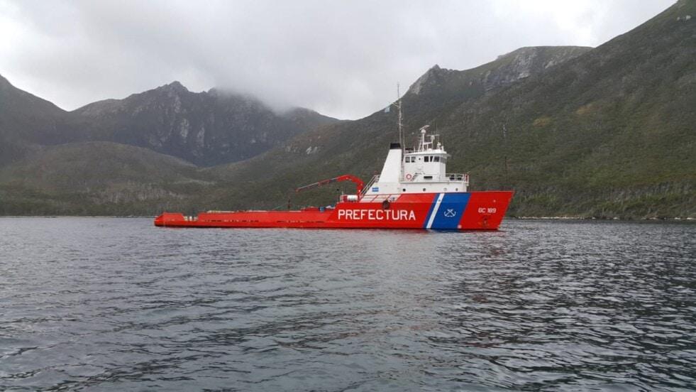 """Comienza la campaña de investigación a bordo del GC-189 """"Prefecto García"""""""