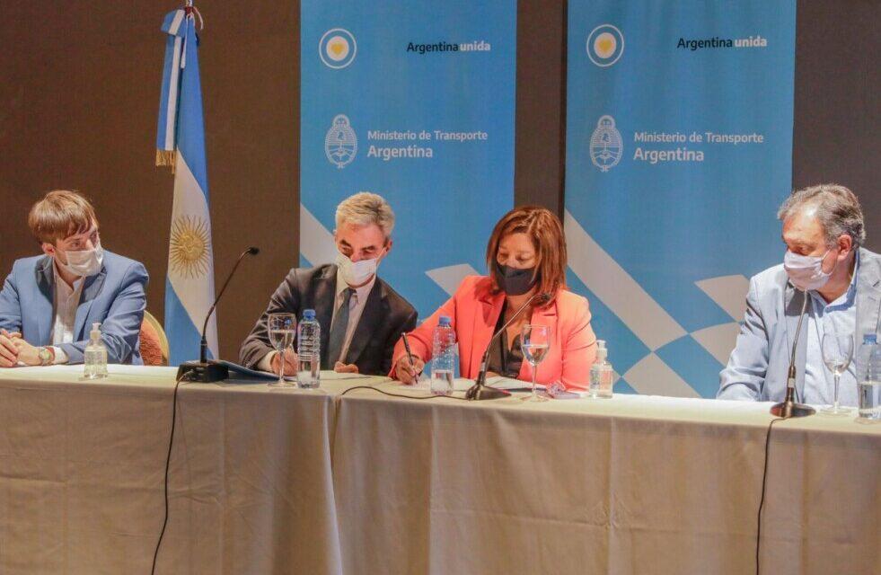 Meoni anunció 7 nuevas terminales de ómnibus para Río Negro