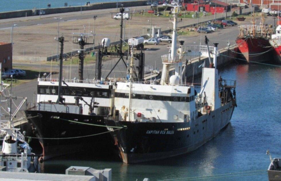 """Reparan el buque """"Oca Balda"""" y se sumará a la conservación del Mar Argentino"""