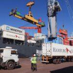Superavit en el saldo comercial con Brasil