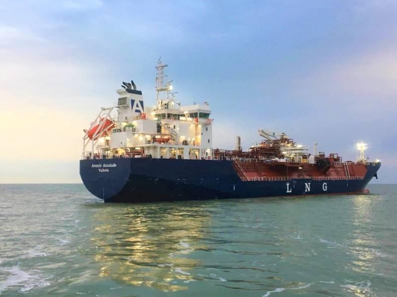 Keppel entrega otro buque de GNL a Avenir LNG