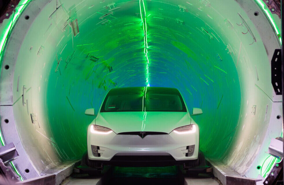Cómo son los túneles que propone Elon Musk para aliviar el tráfico en Miami