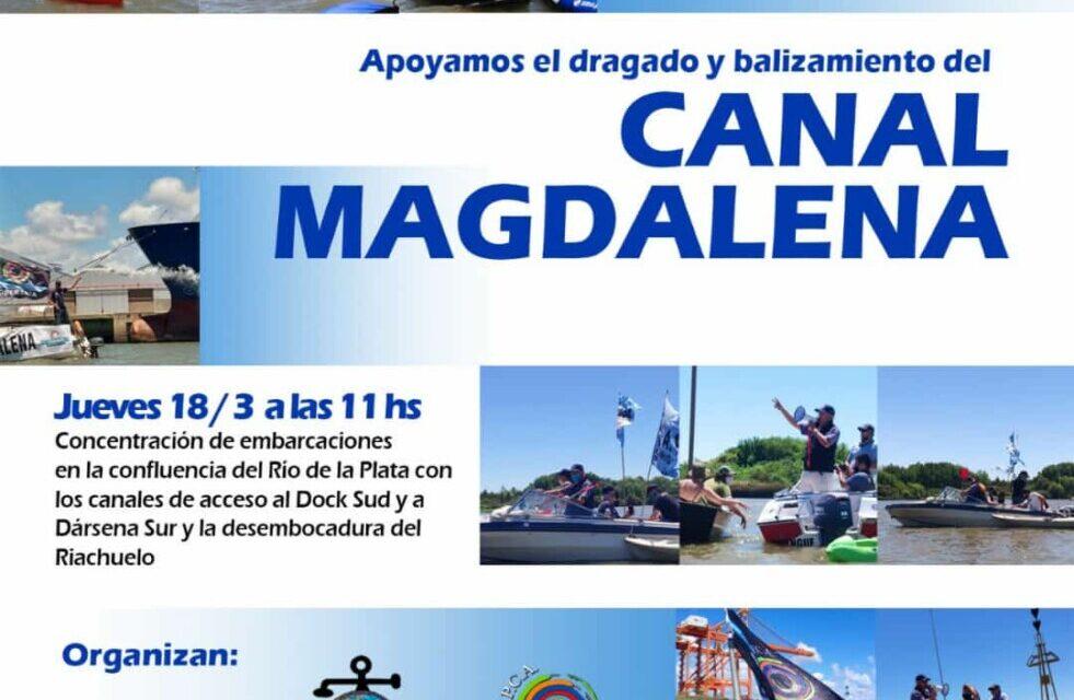 Colocarán simbólicamente la Boya IALA Km 196 en el Canal de Magdalena