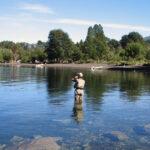 Temporada de pesca: en el Río Futaleufú se podrá pescar hasta el 31 de mayo