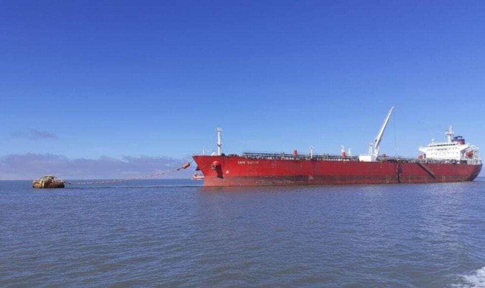 Puerto Rosales se consolida en la exportación de crudo de Vaca Muerta