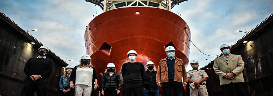 """Augusto Costa en Mar del Plata: """"Las obras de dragado en el puerto impactarán en nuevos puestos de trabajo"""""""