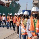Se cumple un año del inicio de la gestión de Carla Monrabal en el Puerto Dock Sud