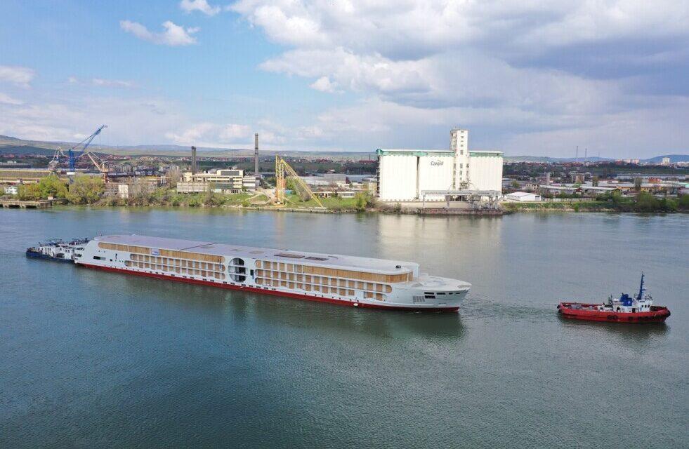 """Concordia Damen lanza la próxima generación de A-ROSA Crucero fluvial """"E-Motion"""""""