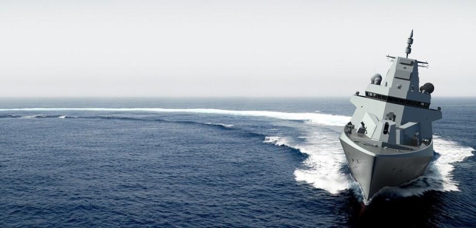 Damen contrata a Hamburg Ship Model Basin para nuevas pruebas de fragatas