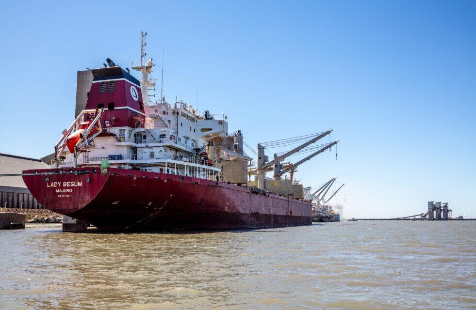 Significativo primer trimestre para el puerto de Bahia Blanca