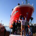 Nuevo buque pesquero construido por el Astillero Contessi, con la garantía de FOGABA