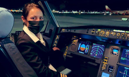 Una piloto de Escobar comandó el vuelo que trajo 800 mil vacunas Sputnik V