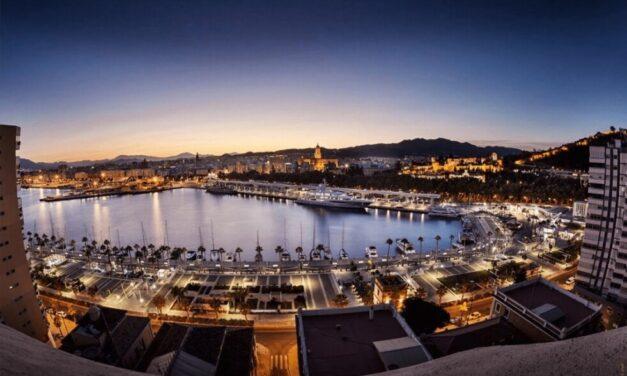 La terminal de megayates del puerto de Málaga, operativa para final de año