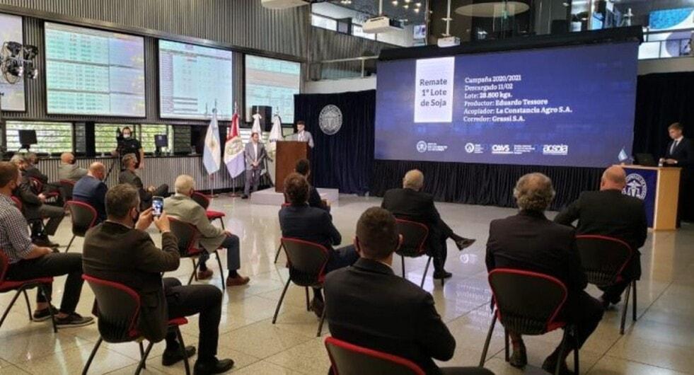 El Primer lote de soja de la campaña 2020/21 se vendió en $51.500 la tonelada