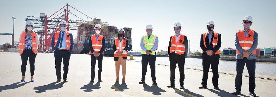 Agilizan el control ambiental en el polo hidrocarburífero de Dock Sud