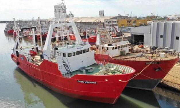 Red Chamber reparó a nuevo el barco Cabo Vírgenes