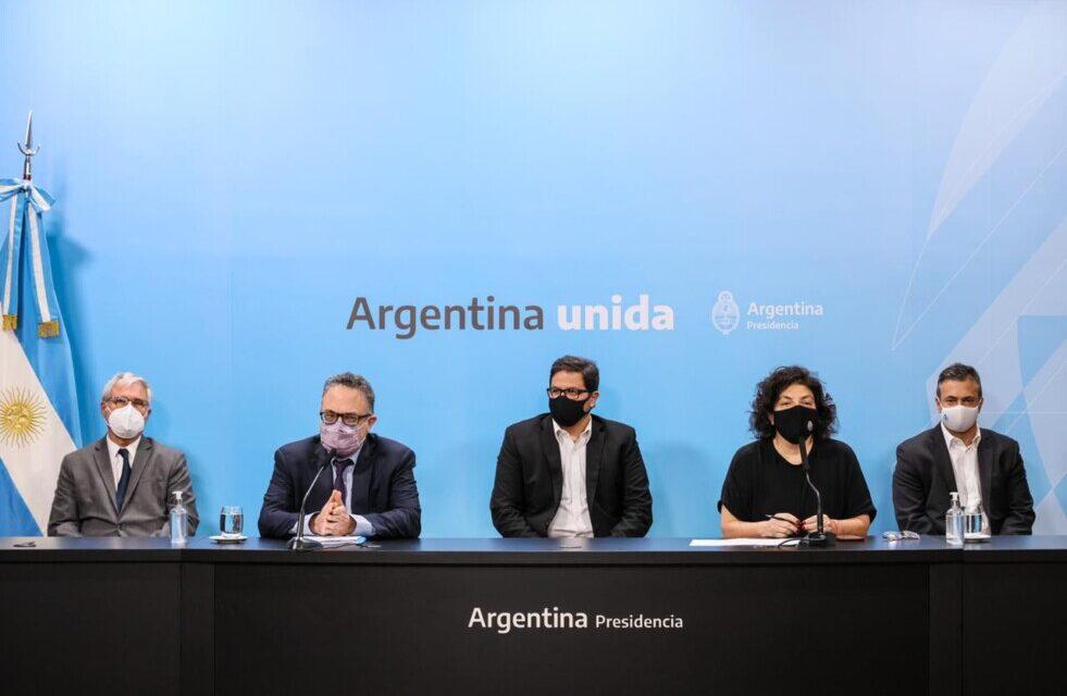 Cafiero, Vizzotti y Kulfas se reunieron con empresarios proveedores de oxígeno para garantizar abastecimiento