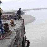 Mejoras en las defensas del muelle pesquero de Puerto Rawson