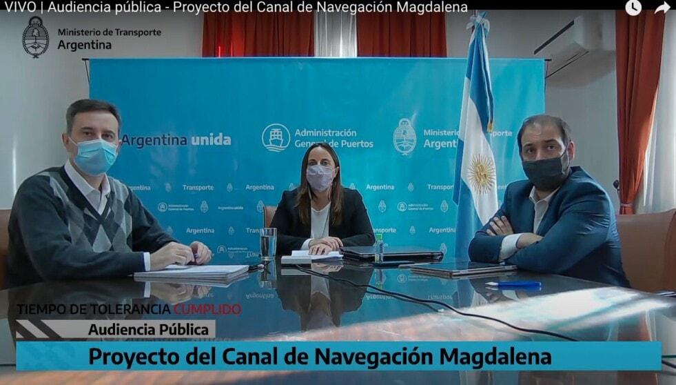 Ahora: se desarrolla la audiencia pública por el Canal Magdalena, enlace en la noticia