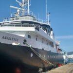 El buque Víctor Angelescu arribó al puerto de Mar del Plata