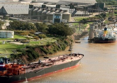 En plena cosecha gruesa preocupa la bajante del río Paraná