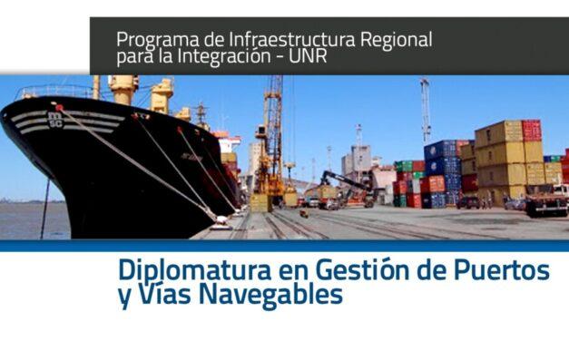 Inició la Diplomatura en Puertos y Vías Navegables de la Universidad Nacional de Rosario