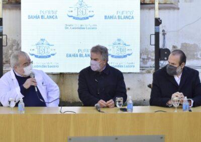 El puerto Bahía Blanca colabora con el hospital municipal