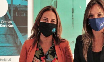 Carla Monrabal y Malena Galmarini juntas para trabajar en la perspectiva de género
