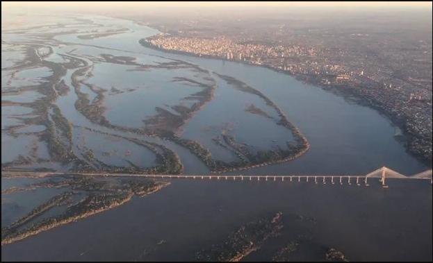 El Paraná crecerá artificialmente sólo para garantizar la navegación