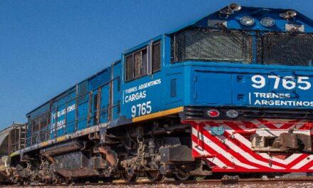 Los trenes nacionales de cargas superaron sus marcas históricas para un primer cuatrimestre