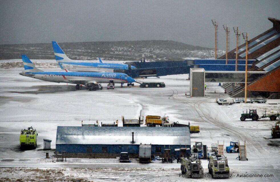 El aeropuerto de Ushuaia cuenta con nuevos procedimientos PBN