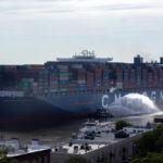 El puerto de Savannah recibió un buque de 16000 TEU, el mas grande de su historia