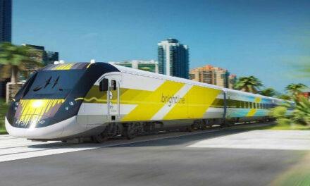 Progresan los trabajos del tren rápido entre Miami y Orlando