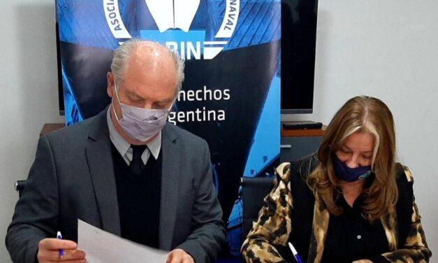 La Asociación Bonaerense de la Industria Naval firmó un acuerdo de trabajo conjunto con la Unión Industrial de Campana